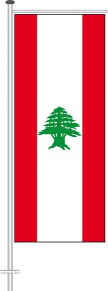 Libanon als Auslegerfahne