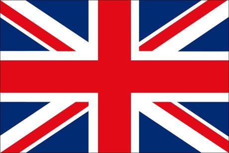 Großbritannien als Fanfahne