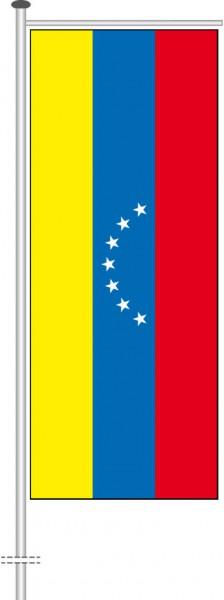 Venezuela als Auslegerfahne