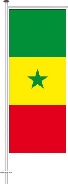 Senegal als Auslegerfahne