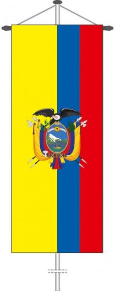 Ecuador als Bannerfahne