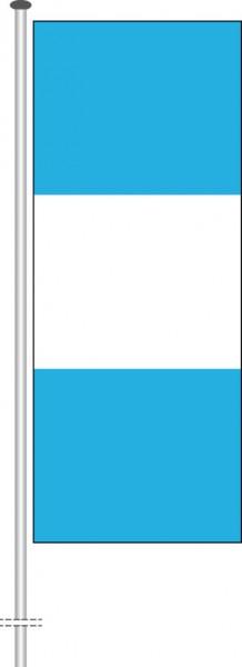 Guatemala als Hochformatfahne