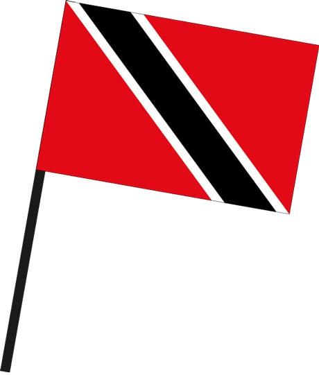 Trinidad und Tobago als Stockfahne