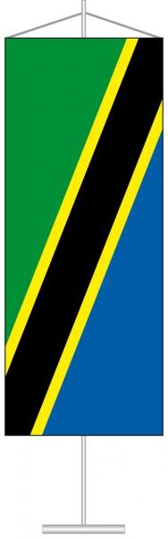 Tansania als Tischbanner