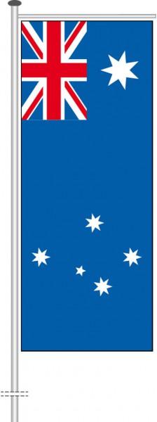 Australien als Auslegerfahne