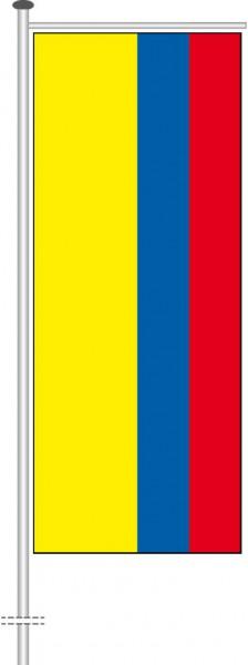 Kolumbien als Auslegerfahne