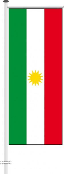Kurdistan als Auslegerfahne
