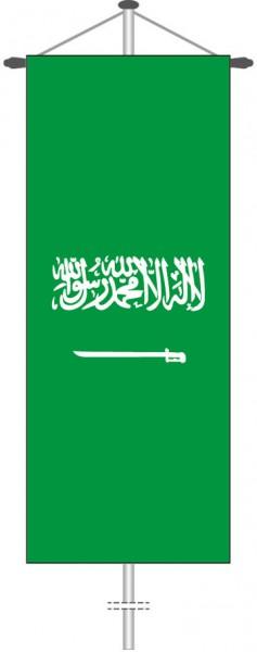 Saudi-Arabien als Bannerfahne