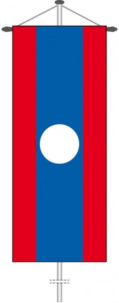 Laos als Bannerfahne