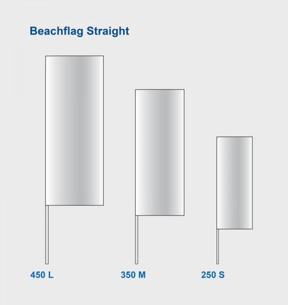 Beachflag Straight
