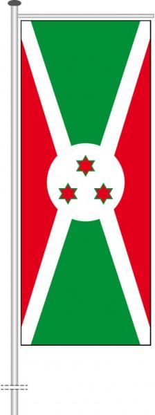 Burundi als Auslegerfahne