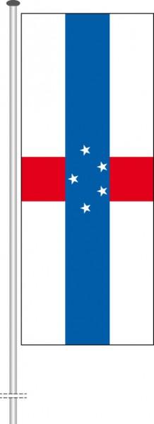 Niederlaendische Antillen als Hochformatfahne