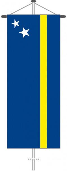 Curacao als Bannerfahne