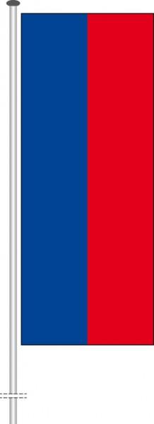 Haiti als Hochformatfahne