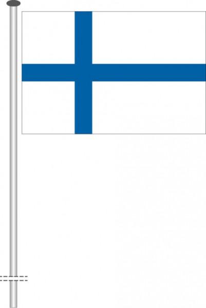 Finnland als Querformatfahne