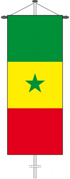 Senegal als Bannerfahne