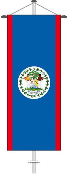 Belize als Bannerfahne