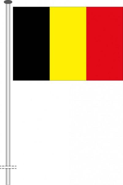 Belgien als Querformatfahne