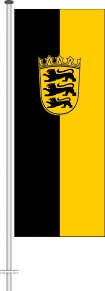 Baden-Würtemberg - Dienstflagge als Hochformatfahne