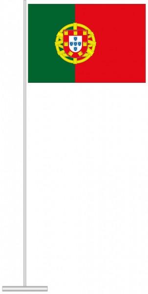 Portugal als Tischfahne
