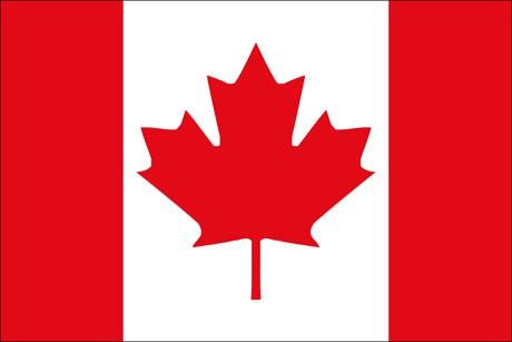 Kanada als Fanfahne