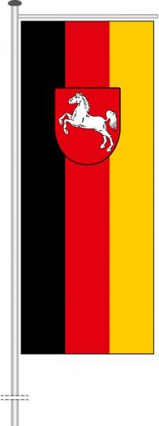 Niedersachsen - Bürgerflagge als Auslegerfahne