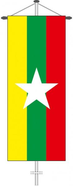 Myanmar als Bannerfahne