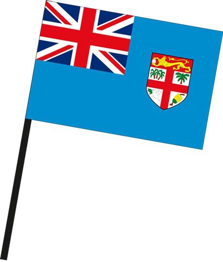 Fidschi als Stockfahne