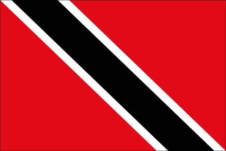 Trinidad und Tobago als Fanfahne