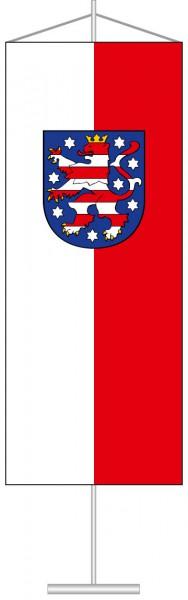 Thüringen - Dienstflagge als Tischbanner