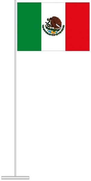 Mexiko als Tischfahne