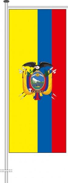 Ecuador als Auslegerfahne