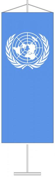 Vereinte Nationen als Tischbanner