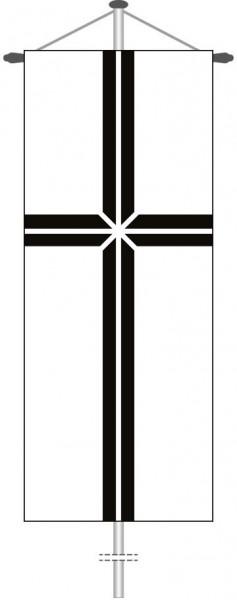Bistumskreuz als Bannerfahne