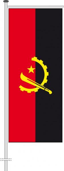 Angola als Auslegerfahne