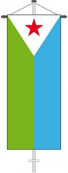 Dschibuti als Bannerfahne