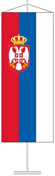 Serbien als Tischbanner