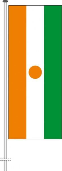 Niger als Hochformatfahne