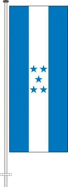 Honduras als Hochformatfahne