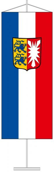 Schleswig-Holstein - Dienstflagge als Tischbanner