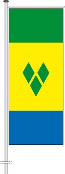 St. Vincent und Grenadien als Auslegerfahne