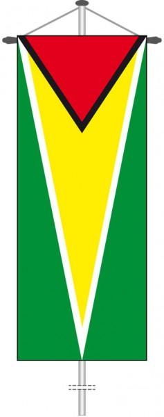 Guyana als Bannerfahne