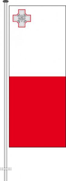 Malta als Hochformatfahne