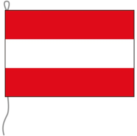Österreich als Bootsfahne