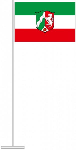 Nordrhein-Westfalen - Dienstflagge als Tischfahne