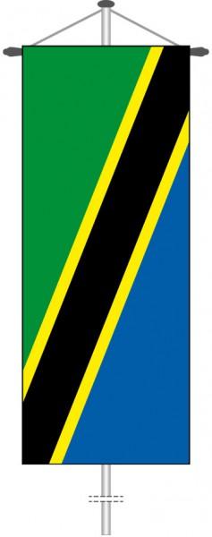 Tansania als Bannerfahne