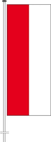 Indonesien als Hochformatfahne