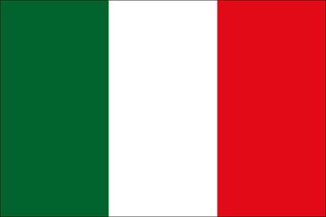 Italien als Fanfahne