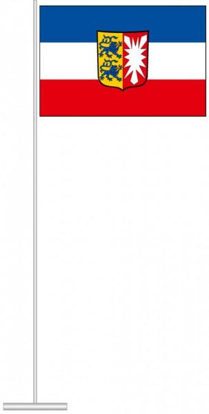 Schleswig-Holstein - Dienstflagge als Tischfahne