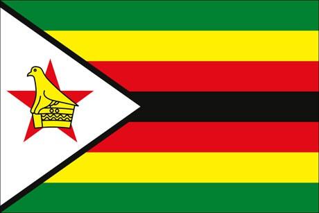 Simbabwe als Fanfahne